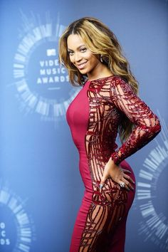 Beyonce at The 2014 Mtv Video Music Awards Press Room