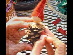 Pinecone Gnome Tutorial video