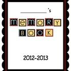 This is a memory book for students to fill out at the end of the year.  It makes a great activity for the last week of school and a wonderful keeps...
