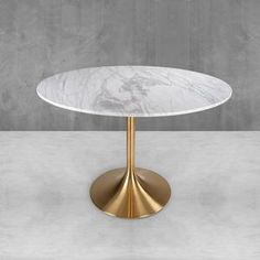 Round Dining Table Modern, Mid Century Modern Table, Contemporary Dining Table, Mid Century Modern Design, Drum Side Table, Tulip Table, Marble Top, Dining Chairs, Dining Room