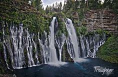 Bernie Falls Located in Northern California