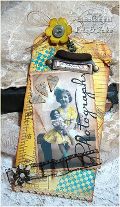 The Funkie Junkie: Inspiration Photo Meets Tim Holtz's June Challenge