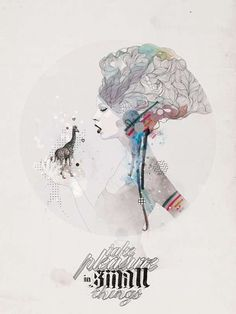 Frantic Ethereal Art (UPDATE) - Raphael Vicenzi Innovates Illustration with Mixed Media and Words (GALLERY)