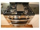 Stainless stove with grill top grittle   Featured in our *New Listing* Open House January 13th 2-4