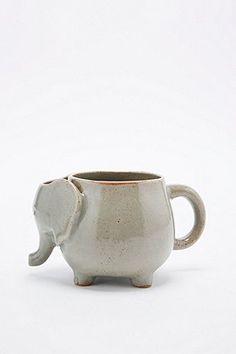 Teetasse im Elefantendesign