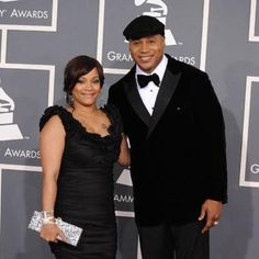 Our favorite Why Fashion Matters Charity Auction Host LL Cool J hosts the Grammy's...Simone Smith in SIS Jewels and an Edie Parker Clutch. Both available at Hirshleifers!