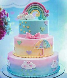 Gorgeous weather birthday cake