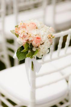 peach wedding theme | peach white wedding decor Elegant San Diego Beachside Wedding by The ...