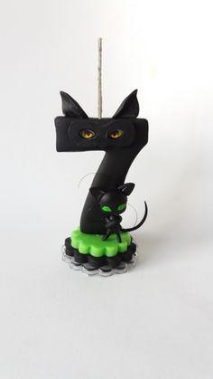 Vela de biscuit Cat Noir Miraculous