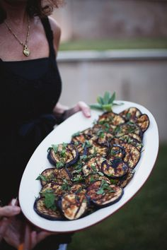 love me some grilled eggplant