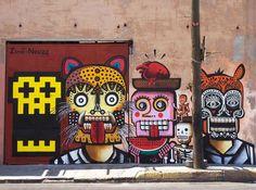 Neuzz, Mexican street artist   Neuzz, Mexico - unurth   street art   Mexican Artists