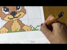 How to Make a Word Chart from a Graph for C2C Crochet - YouTube