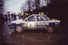 Feb Colin McRae wins on his Subaru debut at the Talkland Int. It was also Subaru's first win. Subaru Rally, Rally Car, Colin Mcrae, Subaru Legacy, Car Posters, Mazda, Peugeot, Race Cars, Monster Trucks