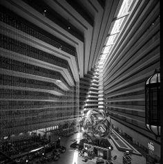 Hyatt Regency San Francisco Embarcadero Center Architect: John Portman (1973) Location: San Francisco, CA