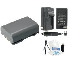 NB2LH HighCapacity Replacement Battery with Rapid Travel Charger for Select Canon Digital Cameras UltraPro Bundle Includes Camera Cleaning Kit Camera Screen Protector Mini Travel Tripod *** Find out more about the great product at the image link.