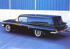 Another Wagon-based offshoot, the sedan delivery. This is a '60 Chevy.