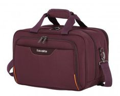 Flugtasche Aubergine Laptop Travelite Sunny Bay 40cm violett - Bags & more When Someone Loves You, Nylons, Sunnies, Traveling By Yourself, Laptop, China, Bags, Bucket, Air Travel