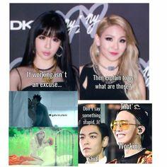 Yg Artist, 2ne1, South Korea, Bigbang, Cl, Kpop, Humor, Sayings, Memes