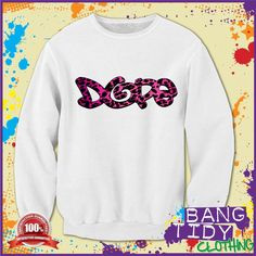 Leopard Print Dope Swag Trill Hipster Joey Bad Ass Mens Sweatshirt  Our Price: £19.97