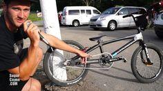 BMX: Andrew Townsend Haro Carbon Bike Check