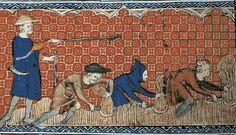 GEBEURTENIS De horigen moesten voor de heer herendiensten uitvoeren. Dit waren klusjes die de horigen uit voerden.