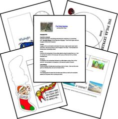 The Polar Express FREE Unit and Lapbook