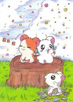 Hamtaro, Happy Tree Friends, Bullet Journal Themes, Cardcaptor Sakura, Manners, Kawaii Anime, Wallpaper Backgrounds, Manga Anime, Sticker