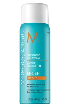 Moroccanoil® Luminous Hair Spray Strong available at #Nordstrom