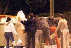 El tercer jinete de El Apocalipsis de Juan: el hambre invade los contenedores de basuras
