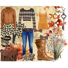 """warm fall"" by countrygurl16 on Polyvore"