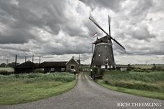 Windmill along the Rotte River
