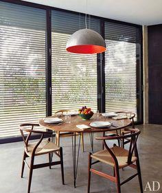 Wishbone chairs & Heerenhuis table