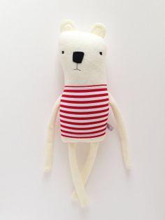 polar bear friend :: finkelstein's center handmade creature