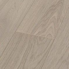 1 stavs parkett - Eik Plank Exclusive Platinum Grå