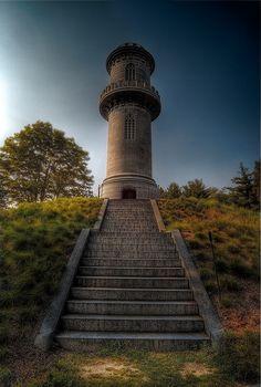 Tower in Mt. Auburn Cemetery.