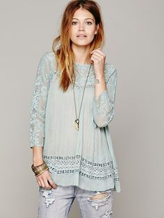 Free People FP ONE Golden Age Top http://www.freepeople.co.uk/whats-new/fp-one-golden-age-top/