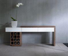 Modern White Sofa Table | Modern Console Table Decor