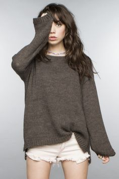 ~ baggy sweater
