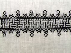 this is the first blackwork pattern i ever did.  16th Century Blackwork Cuffs - NEEDLEWORK