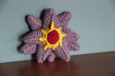 #121 Starmie  Made by Pokemon Crochet Challenge https://www.facebook.com/PokemonCrochetChallenge