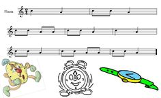 recorder song that uses A and C