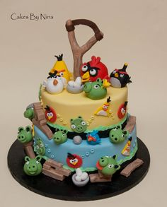 For all you Angry Bird fans x