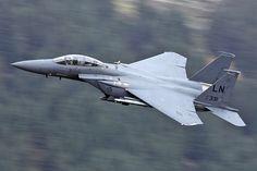 91-0331\LN F-15E 48th FW, 492nd FS 'Bolars' RAF Lakenheath.