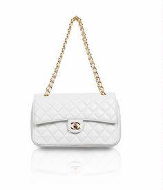 white chanel bag
