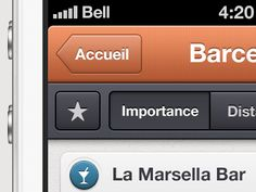 Nice iOS buttons found on Dribbble.