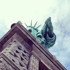 The Statue of Liberty - New York tour 2015