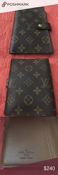 LV PM Agenda AUTHENTIC LV Pm Agenda, Code CA0928, Made in Spain, Height 5.70 inches, depth 0.59 inches, Width 4.13 inches. NO TRADES AND NO BUNDLES. Louis Vuitton Bags