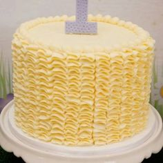 Mellow Yellow! So delicate and sweet....by Kiss my Cakes