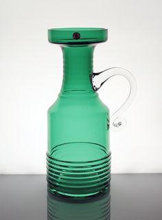 Kleopatra 1508 | Designlasi.com. Aladin, Tamara Manufacturer: Riihimäen Lasi. Designed in: 1969. In production: 1970. Height: 280 mm. Diameter: 110 mm