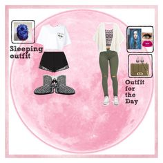 """""""Day & Night Outfit"""" by michellemaria08 ❤ liked on Polyvore featuring Moschino, Princesse tam.tam, Glamorous, MANGO, Rebecca Minkoff and Lime Crime"""